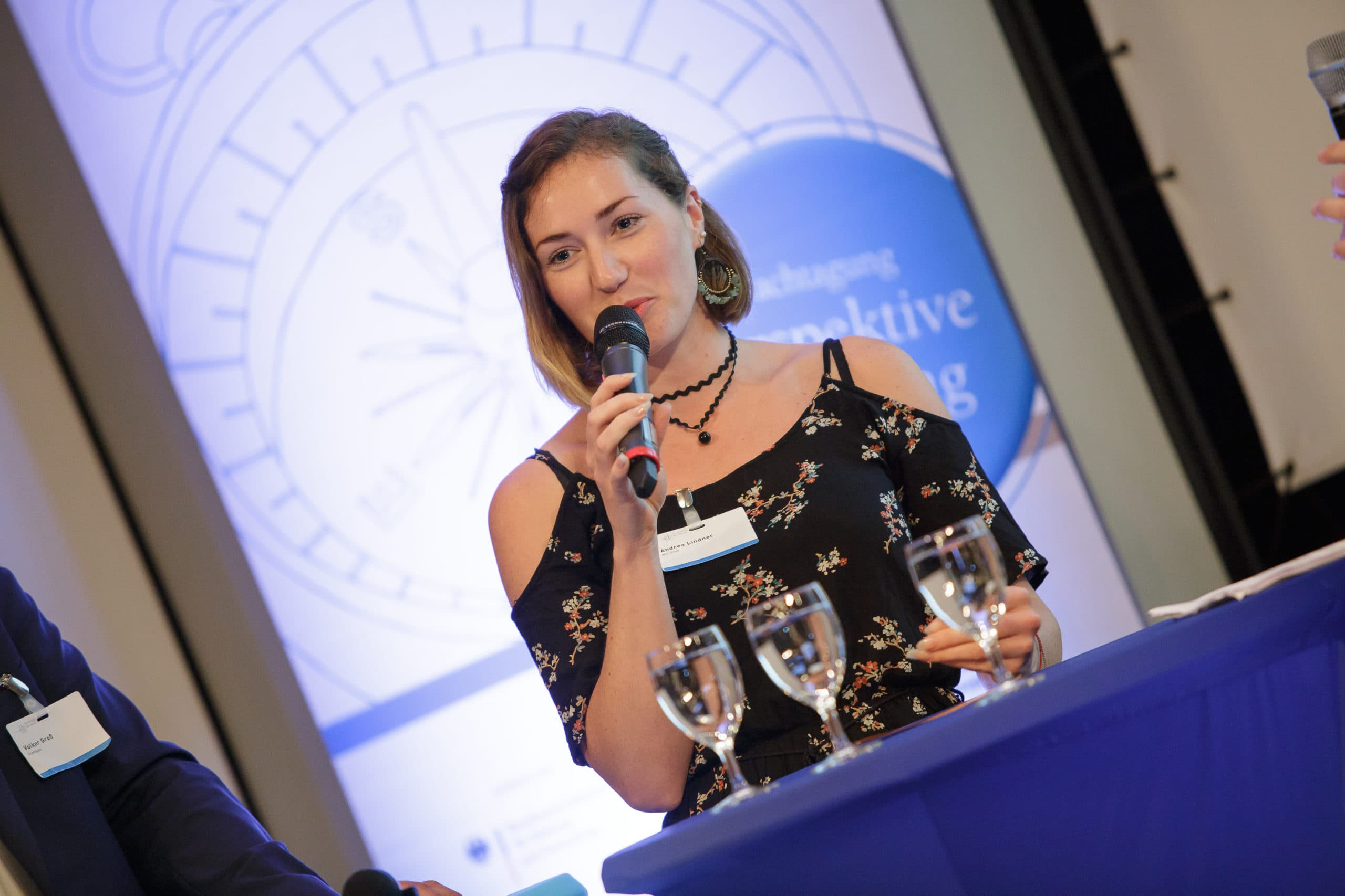 Moderatorin München Andrea Lindner